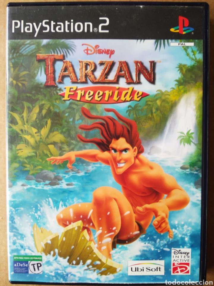 JUEGO PS2 PLAYSTATION 2 DISNEY TARZAN FREERIDE (UBISOFT/DISNEY). EN ESPAÑOL. (Juguetes - Videojuegos y Consolas - Sony - PS2)