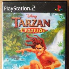 Videojuegos y Consolas: JUEGO PS2 PLAYSTATION 2 DISNEY TARZAN FREERIDE (UBISOFT/DISNEY). EN ESPAÑOL.. Lote 194365477