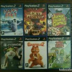 Videojuegos y Consolas: LOTE 6 JUEGOS PLAYSTATION 2 DE SONY, PLAY 2 PS2. Lote 194491343