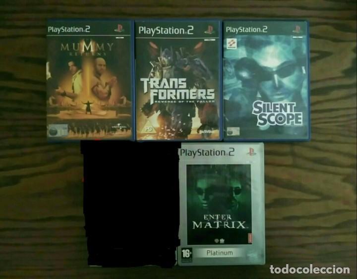 LOTE 4 JUEGOS PLAYSTATION 2 DE SONY, PLAY 2 PS2 (Juguetes - Videojuegos y Consolas - Sony - PS2)