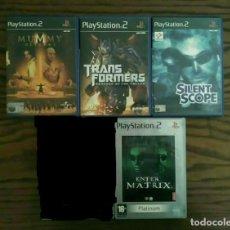 Videojuegos y Consolas: LOTE 4 JUEGOS PLAYSTATION 2 DE SONY, PLAY 2 PS2. Lote 194492312