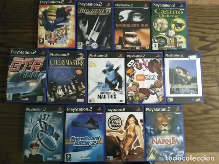 LOTE 13 JUEGOS PS2 EN INGLES PLAYSTATION 2 (Juguetes - Videojuegos y Consolas - Sony - PS2)