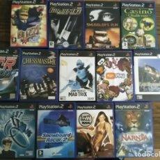 Videojuegos y Consolas: LOTE 13 JUEGOS PS2 EN INGLES PLAYSTATION 2. Lote 194499303