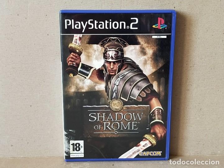 JUEGO SONY PLAYSTATION 2 - PAL / ESP - SHADOW OF ROME - COMPLETO - PS2 - (Juguetes - Videojuegos y Consolas - Sony - PS2)