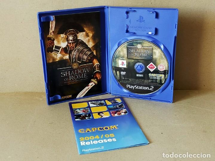 Videojuegos y Consolas: JUEGO SONY PLAYSTATION 2 - PAL / ESP - SHADOW OF ROME - COMPLETO - PS2 - - Foto 2 - 194503655