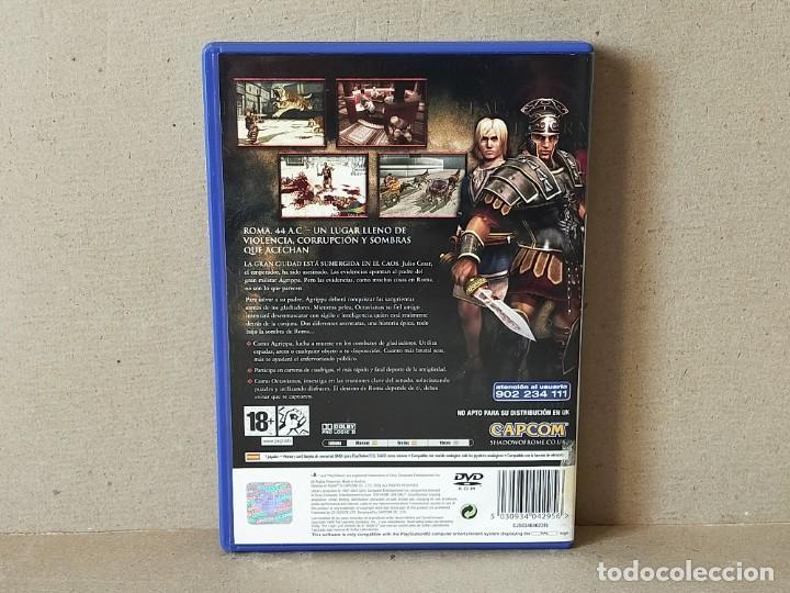 Videojuegos y Consolas: JUEGO SONY PLAYSTATION 2 - PAL / ESP - SHADOW OF ROME - COMPLETO - PS2 - - Foto 3 - 194503655