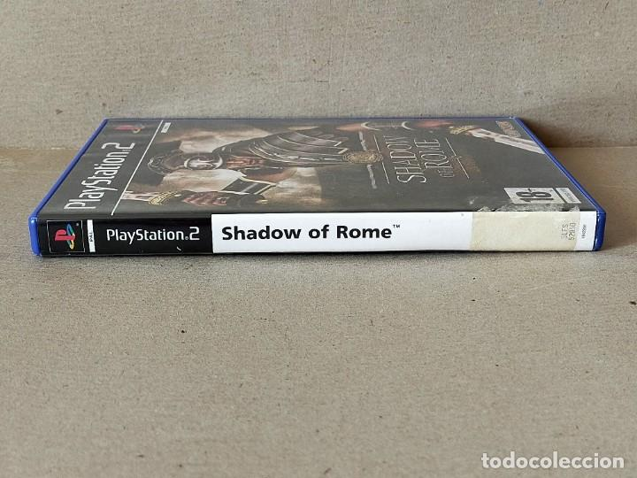 Videojuegos y Consolas: JUEGO SONY PLAYSTATION 2 - PAL / ESP - SHADOW OF ROME - COMPLETO - PS2 - - Foto 4 - 194503655
