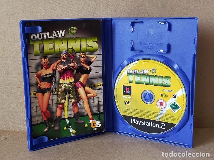 Videojuegos y Consolas: JUEGO SONY PLAYSTATION 2 - PAL / ESP - OUTLAW TENNIS - COMPLETO - PS2 - Foto 2 - 194508876