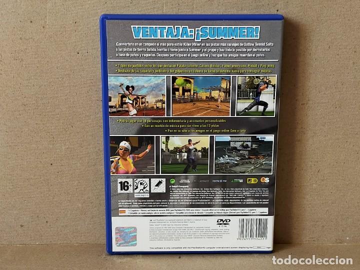 Videojuegos y Consolas: JUEGO SONY PLAYSTATION 2 - PAL / ESP - OUTLAW TENNIS - COMPLETO - PS2 - Foto 3 - 194508876