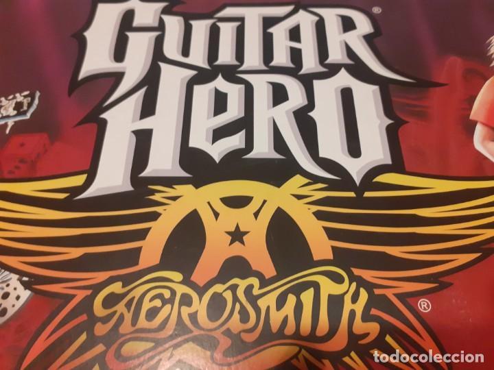 Videojuegos y Consolas: Guitarra guitar hero Aerosmith ps2 y juego - Foto 5 - 194520905
