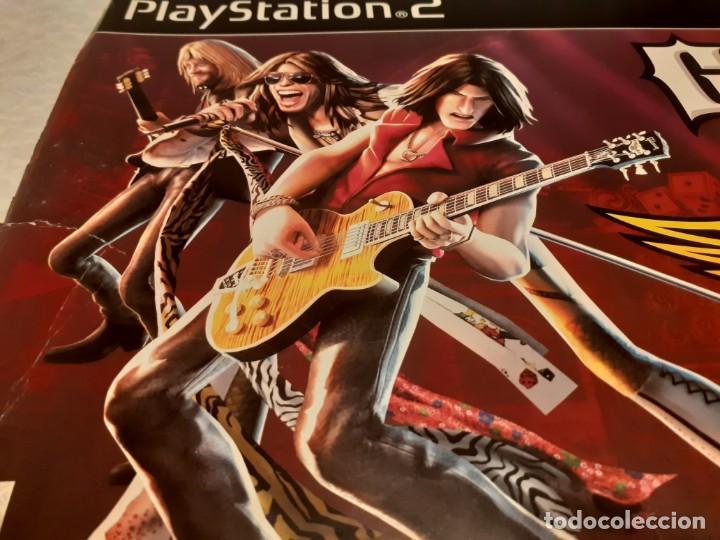Videojuegos y Consolas: Guitarra guitar hero Aerosmith ps2 y juego - Foto 7 - 194520905