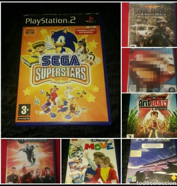 LOTE PS2 6 VIDEOJUEGOS COMPLETOS (Juguetes - Videojuegos y Consolas - Sony - PS2)