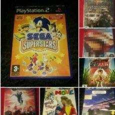 Videojuegos y Consolas: LOTE PS2 6 VIDEOJUEGOS COMPLETOS. Lote 194532250