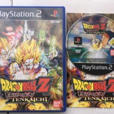Videojuegos y Consolas: DRAGON BALL Z BUDOKAI TENKAICHI 1 PS2 PLAYSTATION 2 PLAY STATION TWO KREATEN. Lote 194564920