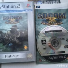 Videojuegos y Consolas: SOCOM US NAVY SEALS PLATINUM PS2 PLAYSTATION 2 PLAY STATION TWO KREATEN. Lote 194565976