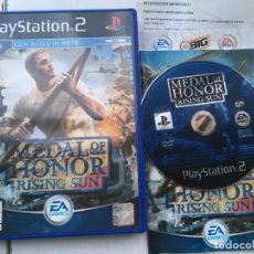 Videojuegos y Consolas: MEDAL OF HONOR RISING SUN PS2 PLAYSTATION 2 PLAY STATION TWO KREATEN. Lote 194566553