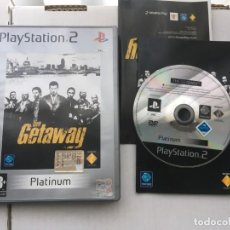 Videojuegos y Consolas: THE GETAWAY GET AWAY PS2 PLAYSTATION 2 PLAY STATION TWO KREATEN. Lote 194566873