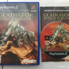Videojuegos y Consolas: GLADIATOR SWORD OF VENGEANCE PS2 PLAYSTATION 2 PLAY STATION TWO KREATEN. Lote 194567187