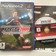 Videojuegos y Consolas: PES 2009 PRO EVOLUTION SOCCER PS2 PLAYSTATION 2 PLAY STATION TWO KREATEN. Lote 194623255