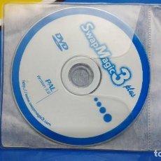 Videojuegos y Consolas: DISCO DVD SWAP MAGIC 3 PLUS PAL VERSIÓN 3.6 SONY PLAY STATION 2 KREATEN. Lote 194765290