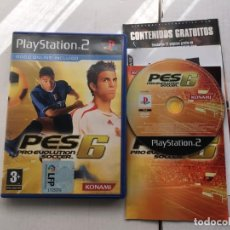 Videojuegos y Consolas: PRO EVOLUTION 6 PS2 PLAYSTATION 2 PLAY STATION TWO KREATEN . Lote 194917117