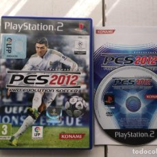 Videojuegos y Consolas: PRO EVOLUTION SOCCER 2012 PES PS2 PLAYSTATION 2 PLAY STATION TWO KREATEN . Lote 194917222