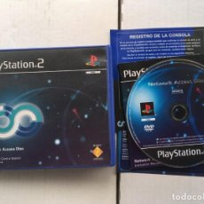 Videojuegos y Consolas: NETWORK ACCESS DISC SONY PS2 PLAYSTATION 2 PLAY STATION TWO KREATEN . Lote 194920225