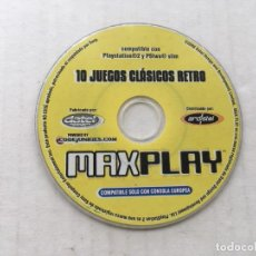 Videojuegos y Consolas: 10 JUEGOS CLASICOS RETRO MAX PLAY PAL PS2 PLAYSTATION 2 PLAY STATION TWO KREATEN . Lote 194920447