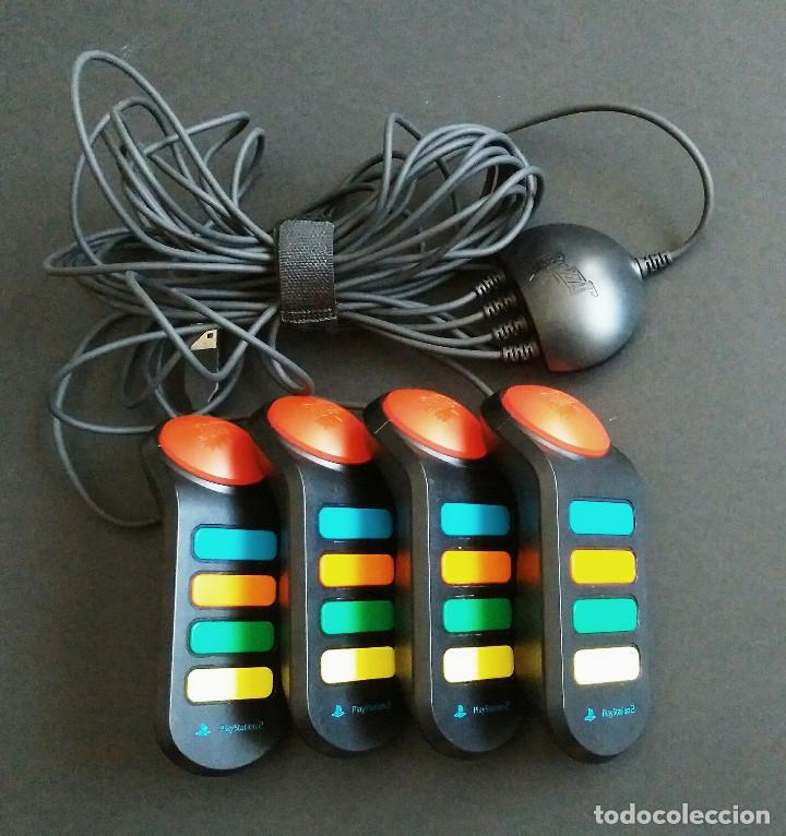 MANDOS BUZZ PS2 (Juguetes - Videojuegos y Consolas - Sony - PS2)
