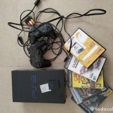 Videojuegos y Consolas: CONSOLA PS2+JUEGOS. Lote 195025620