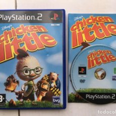 Videojuegos y Consolas: DISNEY CHICKEN LITTLE PS2 PLAYSTATION 2 PLAY STATION TWO KREATEN. Lote 195118677