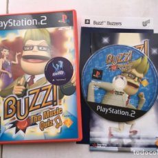 Videojuegos y Consolas: BUZZ THE MUSIC QUIZ PS2 PLAYSTATION 2 PLAY STATION TWO KREATEN. Lote 195119467