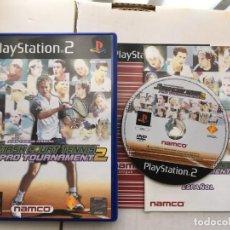 Videojuegos y Consolas: SMART COURT TENNIS PRO TOURNAMENT 2 JUAN CARLOS FERRERO PS2 PLAYSTATION 2 PLAY STATION TWO KREATEN. Lote 195124338