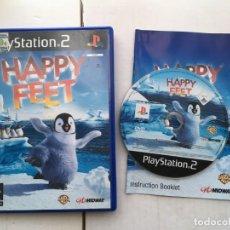 Videojuegos y Consolas: HAPPY FEET PS2 PLAYSTATION 2 PLAY STATION TWO KREATEN. Lote 195124545