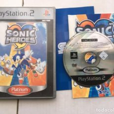 Videojuegos y Consolas: SONIC HEROES PLATINUM SEGA PS2 PLAYSTATION 2 PLAY STATION TWO KREATEN. Lote 195125318