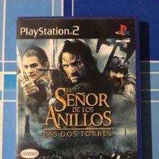 Videojuegos y Consolas: JUEGO EL SEÑOR DE LOS ANILLOS LAS 2 TORRES PS2 PLAYSTATION 2. Lote 195153042