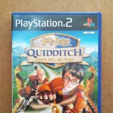 Videojuegos y Consolas: JUEGO PLAYSTATION 2 PS2 HARRY POTTER: QUIDDITCH COPA DEL MUNDO (EA SPORTS, 2003). INCLUYE MANUAL.. Lote 195259676