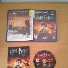 Videojuegos y Consolas: SONY PS2 HARRY POTTER GLOBET OF FIRE COMPLETO CIB PLAYSTATION 2 PAL R10068. Lote 195304345