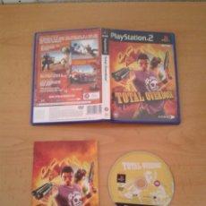 Videojuegos y Consolas: SONY PS2 TOTAL OVERDOSE COMPLETO CAJA Y MANUAL CIB PLAYSTATION 2 PAL R10086. Lote 195305195