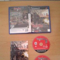 Videojuegos y Consolas: SONY PS2 WORLD WAR ZERO IRONSTORM COMPLETO CAJA Y MANUAL BOXED PLAYSTATION 2 PAL R10090. Lote 195305370