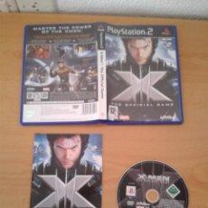 Videojuegos y Consolas: SONY PS2 XMEN OFFICIAL GAME COMPLETO CAJA Y MANUAL BOXED PLAYSTATION 2 PAL R10091. Lote 195305433