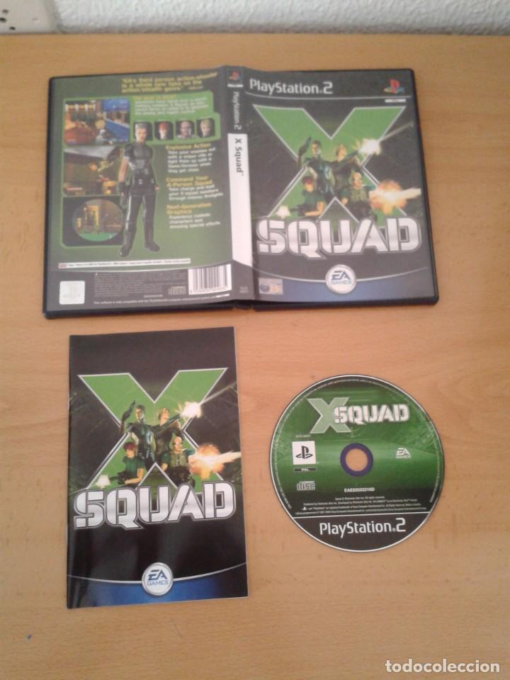 SONY PS2 X SQUAD COMPLETO CAJA Y MANUAL BOXED PLAYSTATION 2 PAL R10092 (Juguetes - Videojuegos y Consolas - Sony - PS2)