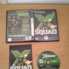 Videojuegos y Consolas: SONY PS2 X SQUAD COMPLETO CAJA Y MANUAL BOXED PLAYSTATION 2 PAL R10092. Lote 195305451
