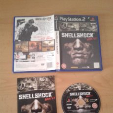 Videojuegos y Consolas: SONY PS2 SHELLSHOCK NAM 67 COMPLETO CAJA Y MANUAL BOXED PLAYSTATION 2 PAL R10093. Lote 195305515