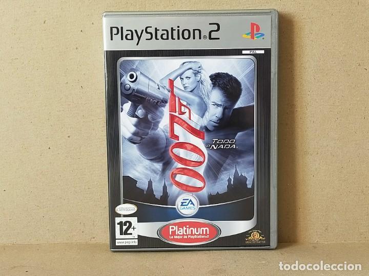 JUEGO SONY PLAYSTATION 2 - PAL / ESP - JAMES BOND 007: TODO O NADA - COMPLETO - PS2 (Juguetes - Videojuegos y Consolas - Sony - PS2)
