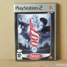 Videojuegos y Consolas: JUEGO SONY PLAYSTATION 2 - PAL / ESP - JAMES BOND 007: TODO O NADA - COMPLETO - PS2. Lote 195308662