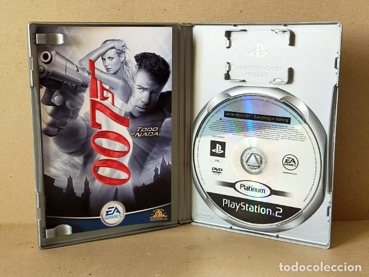 Videojuegos y Consolas: JUEGO SONY PLAYSTATION 2 - PAL / ESP - JAMES BOND 007: TODO O NADA - COMPLETO - PS2 - Foto 2 - 195308662