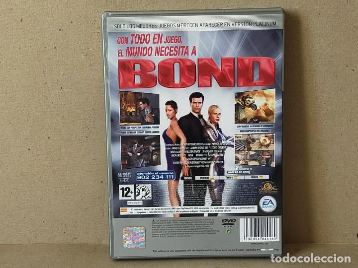Videojuegos y Consolas: JUEGO SONY PLAYSTATION 2 - PAL / ESP - JAMES BOND 007: TODO O NADA - COMPLETO - PS2 - Foto 3 - 195308662