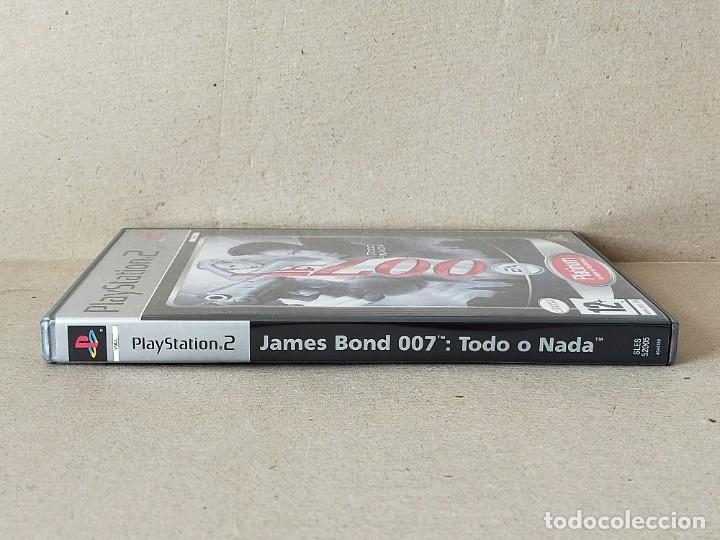 Videojuegos y Consolas: JUEGO SONY PLAYSTATION 2 - PAL / ESP - JAMES BOND 007: TODO O NADA - COMPLETO - PS2 - Foto 4 - 195308662