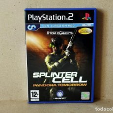 Videojuegos y Consolas: JUEGO SONY PLAYSTATION 2 - PAL / ESP - TOM CLANCY´S SPLINTER CELL PANDORA TOMORROW - COMPLETO - PS2. Lote 195309298
